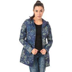 Odzież sportowa damska: IGUANA Kurtka damska Ekene Navy Floral Print/Patriot Blue r. L