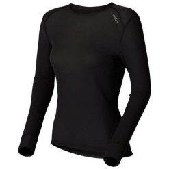 Odzież damska: Odlo Koszulka Tech. Shirt l/s Crew Neck WARM Czarna r. L (152021)