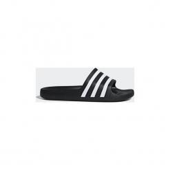 Klapki adidas  Klapki Adilette Aqua. Czarne klapki damskie marki Adidas, z kauczuku. Za 79,95 zł.