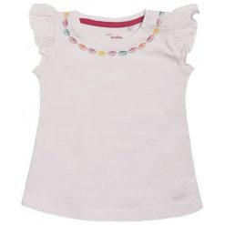 Bluzki dziewczęce z krótkim rękawem: Bluzka z krótkim rękawem dla dziecka 0-3 lata