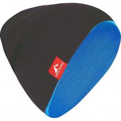"""Dwustronna czapka """"Westfjord"""" w kolorze niebiesko-antracytowym. Niebieskie czapki męskie Westfjord, z dzianiny. W wyprzedaży za 43,95 zł."""
