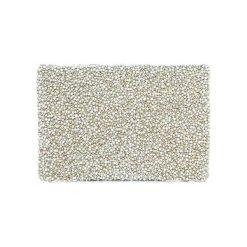 Kopertówki damskie: Kopertówka w kolorze białym – (D)25 x (S)15 cm