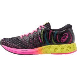 ASICS NOOSA Obuwie do biegania treningowe black/hot pink. Czarne buty do biegania damskie Asics, z materiału. Za 629,00 zł.