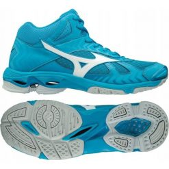 Buty sportowe męskie: Mizuno Buty męskie Wave Bolt 7 niebieskie r. 44.5 (V1GA186598)