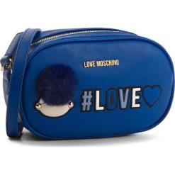 Torebka LOVE MOSCHINO - JC4069PP16LK0750 Blu. Niebieskie listonoszki damskie marki Love Moschino, ze skóry ekologicznej. W wyprzedaży za 449,00 zł.