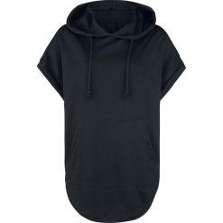 Forplay Oversize Kurzarm Kapuzenshirt Koszulka damska czarny. Czarne bluzki asymetryczne Forplay, m, z materiału. Za 79,90 zł.