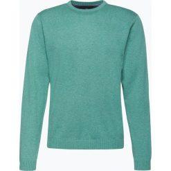 Finshley & Harding - Sweter męski – Pima-Cotton/Kaszmir, zielony. Zielone swetry klasyczne męskie marki Finshley & Harding, l, z bawełny. Za 229,95 zł.