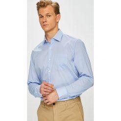Pierre Cardin - Koszula. Szare koszule męskie na spinki marki Pierre Cardin, m, z bawełny, z włoskim kołnierzykiem, z długim rękawem. W wyprzedaży za 239,90 zł.