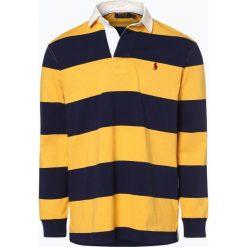 Polo Ralph Lauren - Męska koszulka polo, żółty. Żółte koszulki polo Polo Ralph Lauren, m, prążkowane. Za 659,95 zł.