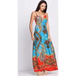 Sukienki: Niebieska Sukienka Closer Look