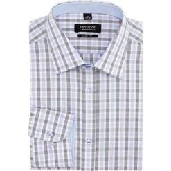 Koszula bexley 2022 długi rękaw slim fit granatowy. Szare koszule męskie slim marki Recman, m, z długim rękawem. Za 29,99 zł.