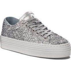 Sneakersy CHIARA FERRAGNI - 18AI-CF1714 Silver. Szare sneakersy damskie Chiara Ferragni, z materiału. W wyprzedaży za 809,00 zł.