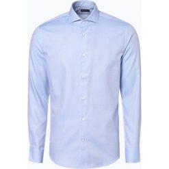 Tiger of Sweden - Koszula męska – Farrell 5, niebieski. Brązowe koszule męskie marki Tiger of Sweden, m, z wełny. Za 449,95 zł.