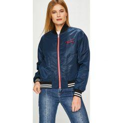 Tommy Jeans - Kurtka bomber. Szare bomberki damskie Tommy Jeans, l, z jeansu. Za 699,90 zł.
