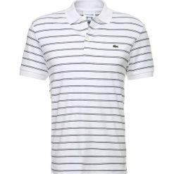 Lacoste Koszulka polo blanc/marine. Szare koszulki polo marki Lacoste, z bawełny. Za 409,00 zł.