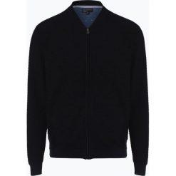 Nils Sundström - Kardigan męski, niebieski. Niebieskie swetry rozpinane męskie Nils Sundström, m, eleganckie. Za 229,95 zł.