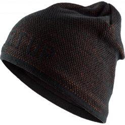 Czapka męska CAM611 - głęboka czerń - Outhorn. Czarne czapki zimowe męskie Outhorn. Za 39,99 zł.