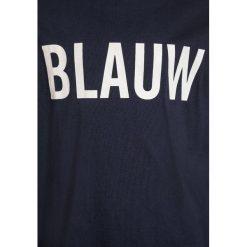 Scotch Shrunk AMS BLAUW LONG SLEEVE  Bluzka z długim rękawem navy. Niebieskie bluzki dziewczęce bawełniane marki Scotch Shrunk. Za 129,00 zł.