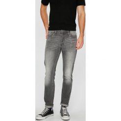 Jack & Jones - Jeansy Tim. Szare jeansy męskie regular Jack & Jones, z bawełny. W wyprzedaży za 129,90 zł.