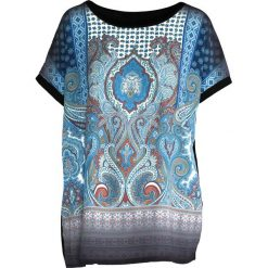 T-shirty damskie: Czarny T-shirt Sage