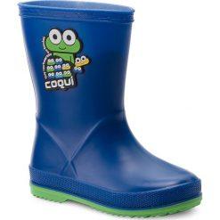 Kalosze chłopięce: Kalosze COQUI – Rainy 8505 Blue/Lime