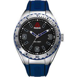 Zegarki męskie: Zegarek kwarcowy w kolorze czarno-srebrno-niebieskim