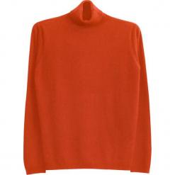 Sweter kaszmirowy w kolorze jasnobrązowym. Brązowe golfy męskie marki Ateliers de la Maille, m, z kaszmiru. W wyprzedaży za 545,95 zł.