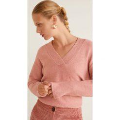 Mango - Sweter Betsy. Różowe swetry klasyczne damskie Mango, l, z dzianiny. Za 139,90 zł.