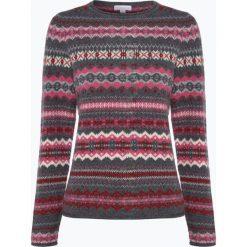 Brookshire - Sweter damski, szary. Szare swetry klasyczne damskie brookshire, m, z dzianiny, z klasycznym kołnierzykiem. Za 229,95 zł.
