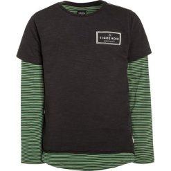 T-shirty chłopięce: Scotch Shrunk DOUBLE LAYER LONGER LENGTH 2IN1 Tshirt z nadrukiem green