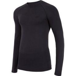 Odzież termoaktywna męska: Bielizna bezszwowa męska (góra) BIMB253GZ - czarny