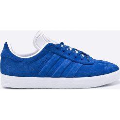 Adidas Originals - Buty Gazelle Stitch And Turn. Szare buty skate męskie adidas Originals, z materiału, na sznurówki. W wyprzedaży za 339,90 zł.