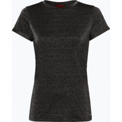 HUGO - T-shirt damski – Denna_1, czarny. Czarne t-shirty damskie HUGO, l. Za 269,95 zł.
