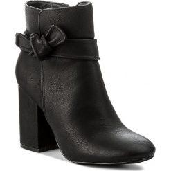 Botki JENNY FAIRY - LS4249-01 Czarny 1. Czarne buty zimowe damskie Jenny Fairy, z materiału, na obcasie. W wyprzedaży za 65,00 zł.