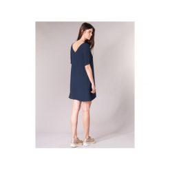 Sukienki krótkie Betty London  HOUNI. Niebieskie sukienki mini marki Betty London, l, z krótkim rękawem. Za 134,10 zł.