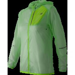 New Balance WJ61226SEF. Brązowe kurtki damskie do biegania New Balance, z materiału. Za 179,99 zł.