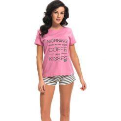 Piżamy damskie: Piżama w kolorze różowym
