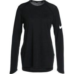 Nike Performance ELITE Koszulka sportowa black/white. Czarne t-shirty damskie Nike Performance, xs, z bawełny, z długim rękawem. Za 159,00 zł.