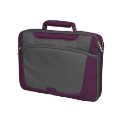 "Sumdex PON - 301PL - 1 15""-16"" fioletowa. Fioletowe torby na laptopa Sumdex, w paski. Za 89,00 zł."