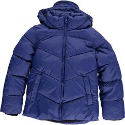 Kurtka zimowa w kolorze niebieskim. Niebieskie kurtki chłopięce zimowe marki CMP Kids, z polaru. W wyprzedaży za 175,95 zł.