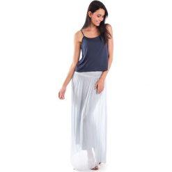 Spódnice wieczorowe: Spódnica w kolorze szarym