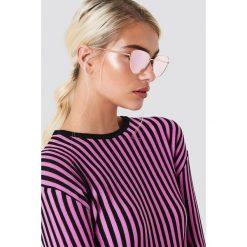 Le Specs Okulary przeciwsłoneczne Echo - Pink. Szare okulary przeciwsłoneczne damskie lenonki marki ORAO. Za 283,95 zł.
