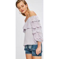 Answear - Bluzka City Jungle. Szare bluzki nietoperze marki ANSWEAR, l. W wyprzedaży za 39,90 zł.