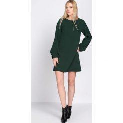 Zielona Sukienka Reliability. Zielone sukienki hiszpanki Born2be, l, mini. Za 89,99 zł.