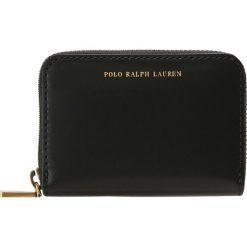Polo Ralph Lauren AMY ZIP WALLET Portfel black. Czarne portfele damskie marki Polo Ralph Lauren. Za 549,00 zł.