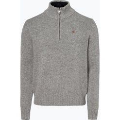 Napapijri - Sweter męski – Noyim3, szary. Szare swetry klasyczne męskie marki Napapijri, l, z materiału, z kapturem. Za 649,95 zł.