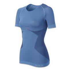 Bluzki sportowe damskie: Odlo Koszulka damska Shirt s/s crew neck Evolution Light Greentec niebieska r. M