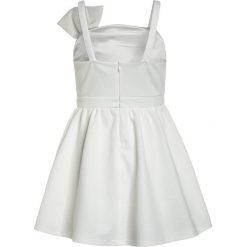 Sukienki dziewczęce z falbanami: Bardot Junior BOW DRESS Sukienka koktajlowa bright white