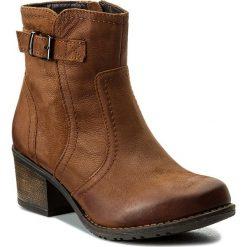 Botki LASOCKI - RST-KALA-04 Brązowy 1. Brązowe buty zimowe damskie Lasocki, z nubiku, na obcasie. Za 199,99 zł.