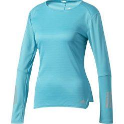 Bluzki damskie: Adidas Koszulka Resonse Long Sleeve Tee W niebieska r. L